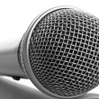 Close-up microphone — Stock Photo