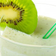 Close-up milkshake with kiwi — Stock Photo #1799831
