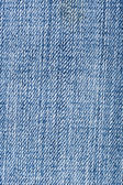 蓝色牛仔裤纺织 — 图库照片