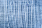 Blue stripped jeans texture — Stock Photo