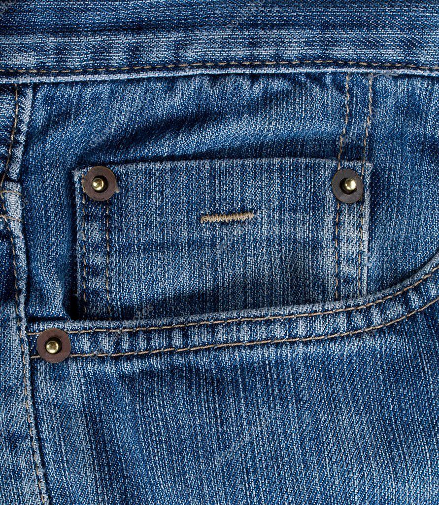 Jeans Back Pocket Texture Blue jeans texture wit...