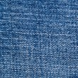 Stock Photo: Dark blue jeans texture