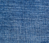 Dark blue jeans texture — Stock Photo