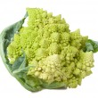 Romanesco cauliflower isolated — Stock Photo
