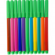Set of soft-tip pens — Stock Photo #1816954