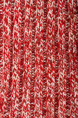Red woolen cloth — Stock Photo