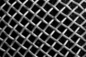 Texture of microphone wire netting — Stock Photo