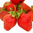 Stock Photo: Two strawberries