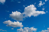 White cumulus — Stock Photo