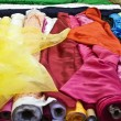 Set of colorful clothes - Stock Photo