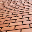 Diagonal brick structure — Stock Photo