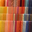 Set of colorful ties — 图库照片