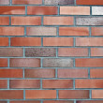 z czerwonej cegły i kamienie — Zdjęcie stockowe #2544743
