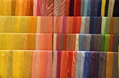 Set of colorful ties — Stock Photo
