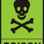 Poison Sign — Stock Photo