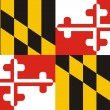 Maryland Flag - Stock Photo