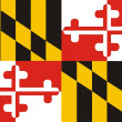 Royalty-Free Stock Photo: Maryland Flag