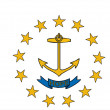 Stock Photo: Rhode Island Flag