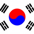 Flag of South Korea — Stock Photo #1919144