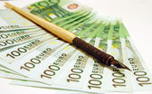 100 Euro — Стоковое фото
