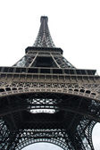 Eiffel Tower With Wide Angle View — Stock Photo