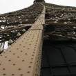 Part of Eiffel tower - Stock Photo