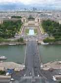 From Eiffel tower — Stock Photo