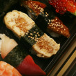 Stock Photo: Japanese traditional sushi