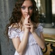 Young victorian lady — Stock Photo #1667800