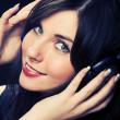 Beautiful Headphones Girl — Stock Photo #1668082