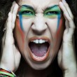 Royalty-Free Stock Photo: Screaming woman