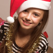 Santa's little helper - Stock Photo