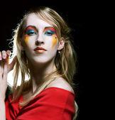 Creative makeup. — Stock Photo