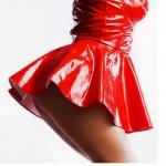 Red dress — Stock Photo