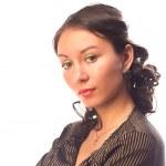 Satisfied businesswoman. — Stock Photo