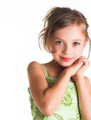 A little girl — Stock Photo