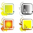Royalty-Free Stock Vectorielle: Square frames