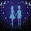 Royalty-Free Stock Imagen vectorial: Couples