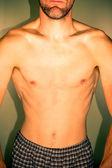 Man torso — Stock Photo