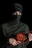 Terrorist — Stockfoto