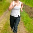Girl running — Stock Photo #1823580