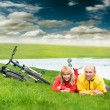 Two cyclists — Stock Photo #1824730