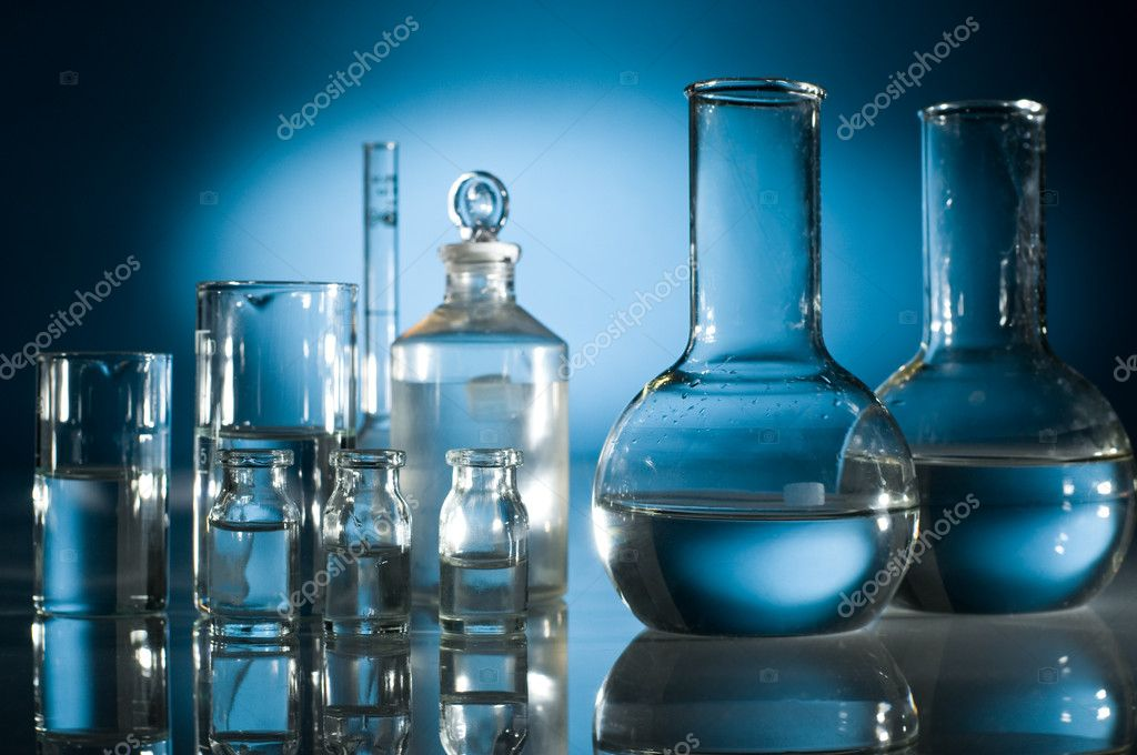Technology and scientific research test-tube — Stock Photo #1822714