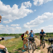 Relax biking — Stockfoto