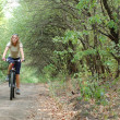Girl biking — Stock Photo #2209823