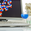 Technology and scientific research — Stock Photo