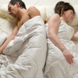 Couple sleeping — Stock Photo #2503716
