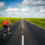 yol bisikleti erkek — Stok fotoğraf