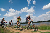 Расслабьтесь на велосипеде — Стоковое фото