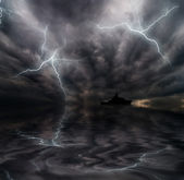 шторм — Стоковое фото